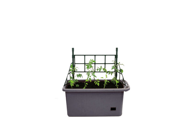 Greenlife Mobile Vege Patch - 1350 x 750 x 350mm - Slate Grey