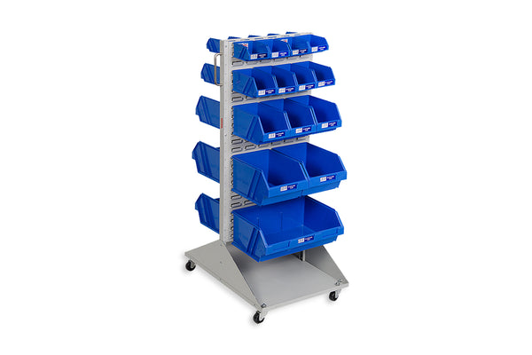Summit Mobile Feeder Trolley Kit with Fischer Plastic Bins (Australian Made)