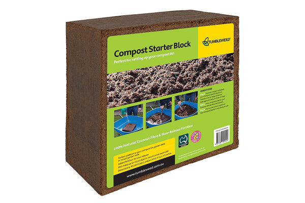 Tumbleweed 45L Compost, Raised Garden Bed or Planter Starter Block