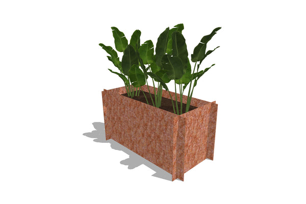 Greenlife Corten Steel Raised Garden Bed - 900 x 450 x 450mm