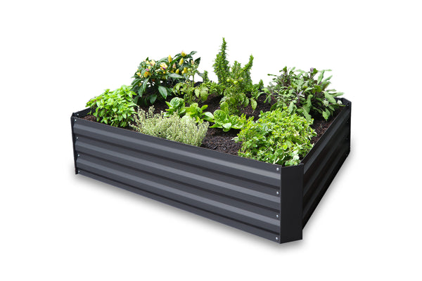 Greenlife Raised Garden Bed - 1200 x 900 x 300mm - Charcoal