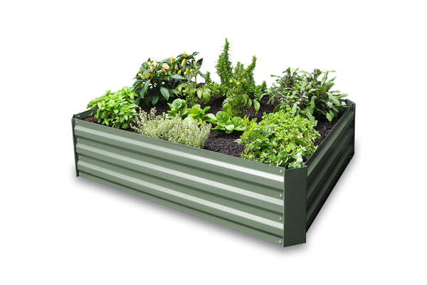 Greenlife Raised Garden Bed - 1200 x 900 x 300mm - Eucalypt Green