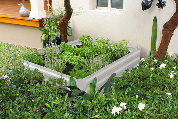 Greenlife Raised Garden Bed - 1200 x 900 x 300mm - Vintage White
