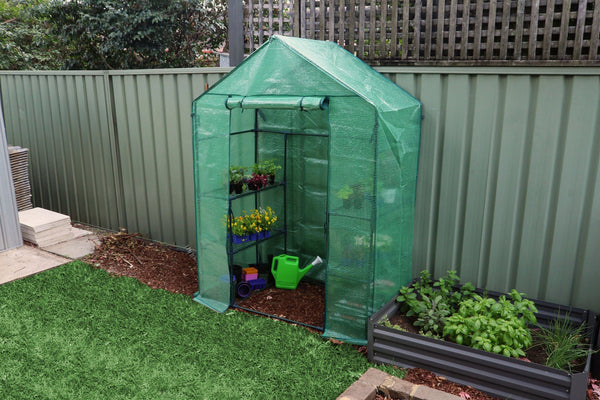 Greenlife 2 Tier Walk-in Greenhouse - 1950 x 1430 x 730mm