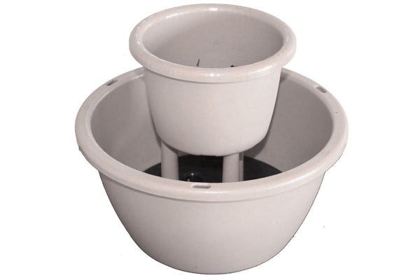 Two Tier Cascading Pot - Beige