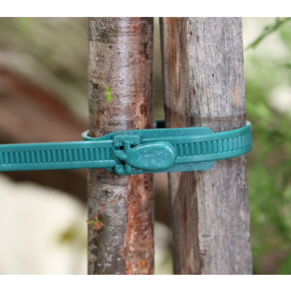 Reusable Adjustable Garden Ties - 20 Pack