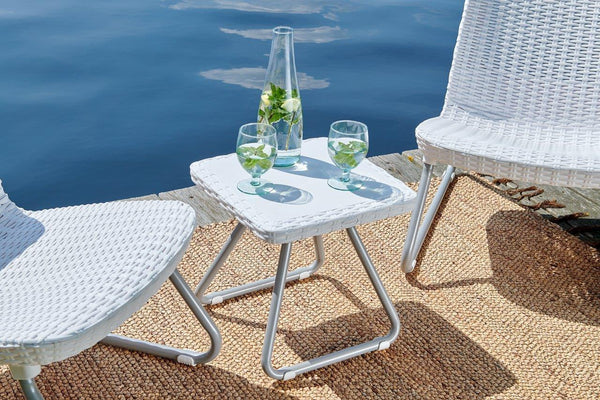Keter Rio Patio Set - White