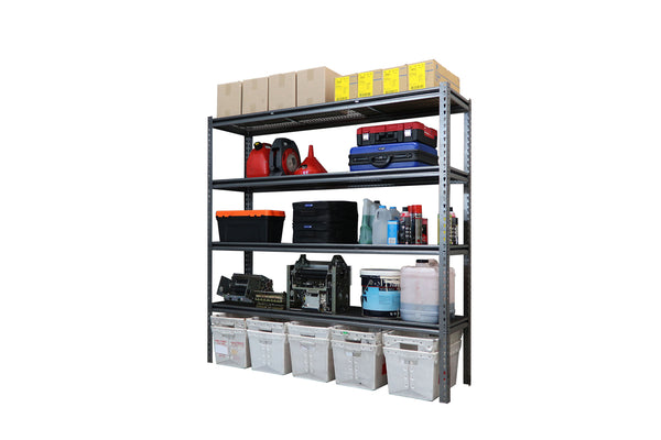 Summit Heavy Duty Rivet Shelving -  1830H x 1820W x 472D