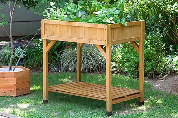 VegTrug Wooden Herb Garden - Natural