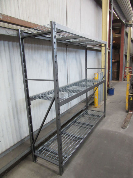 Summit Industrial Longspan Shelving Starter Bay 2140H x 2400W x 610D - 3 Shelf