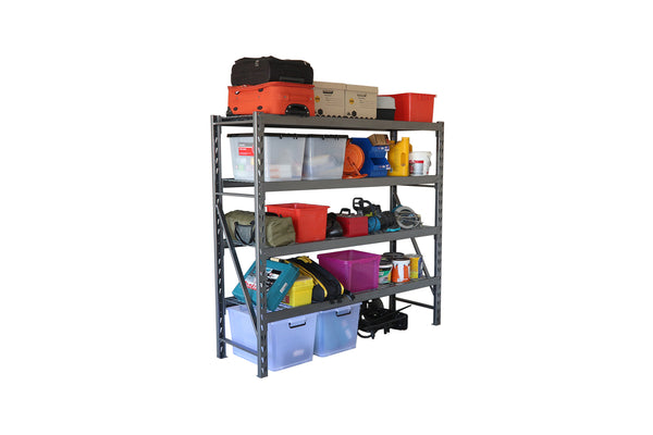 Summit Industrial Shelving - 4 Shelf Starter Bay - 1820H x 1953W x 610D