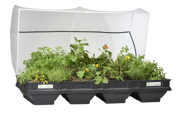 Vegepod Large Raised Garden Bed with Cover - Self Watering Container Gardening