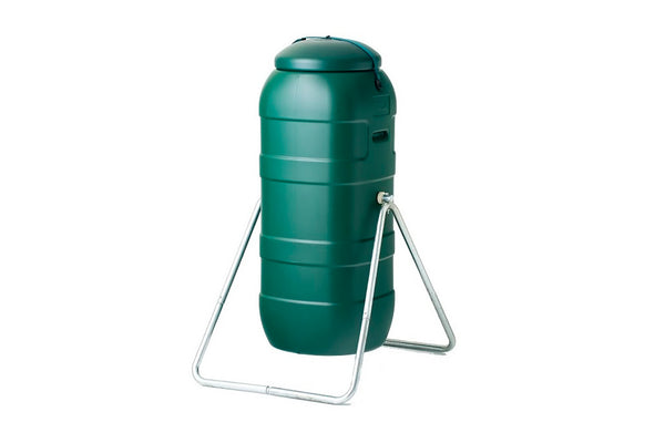 100L Green Single Organic Roto Compost Tumbler