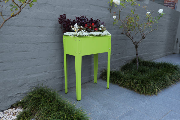Greenlife Mini Raised Garden Planter - 600 x 300 x 800mm - Fresh Lime
