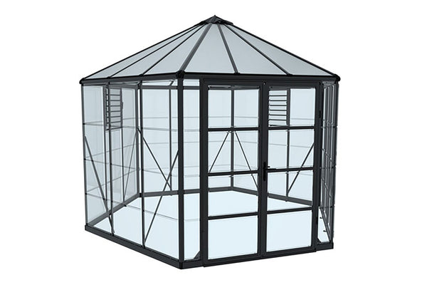 Maze Oasis Hex Greenhouse 12'