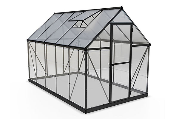 Maze Greenhouse 6' x 10' - Charcoal