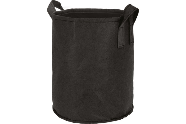 Round Felt Planter - Large - 35L Black