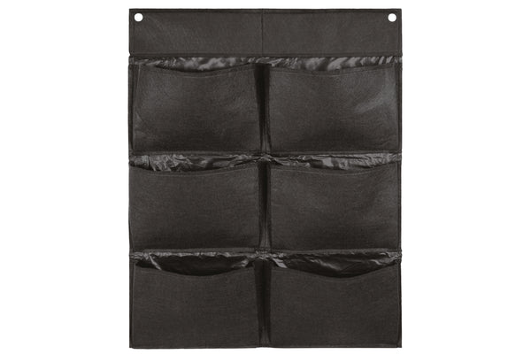 Takasho Felt Vertical Garden Wall - 6 Pocket Black