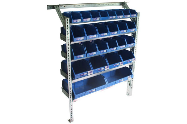 Summit Van Rack Shelving Storage Kit -  1250H x 1000W x 300D
