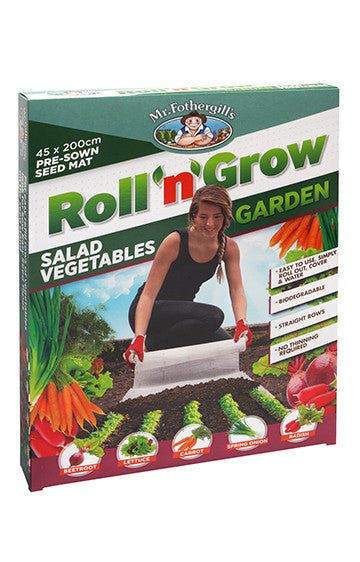 Roll 'n' Grow - Salad Vegetables