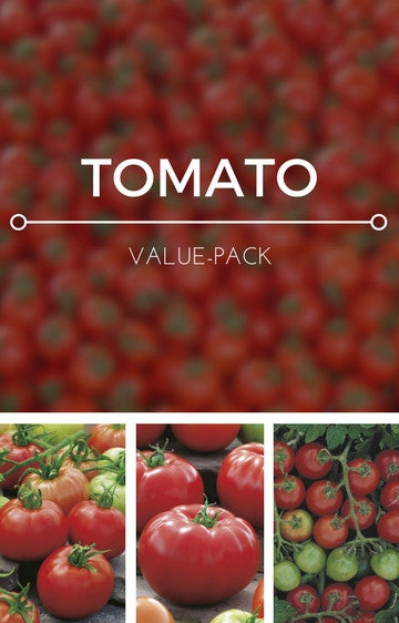 Tomatoes 3-in-1 Seed Pack