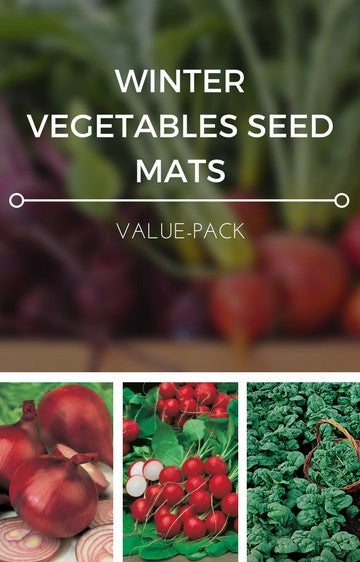 Winter Vegetables 3-in-1 Seed Mat