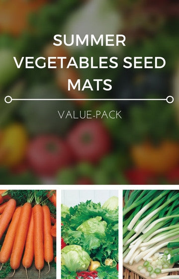 Summer Vegetables 3-in-1 Seed Mat