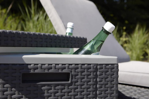 Keter Ice Cube - 2 in 1 Cooler and Side Table