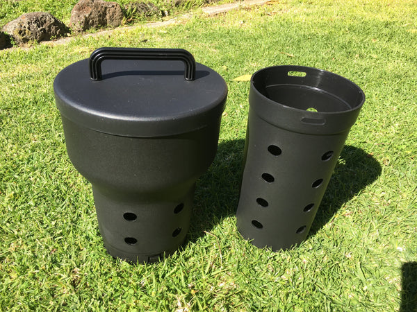 Greenlife Worm Farm & Micro Compost Tower - Black