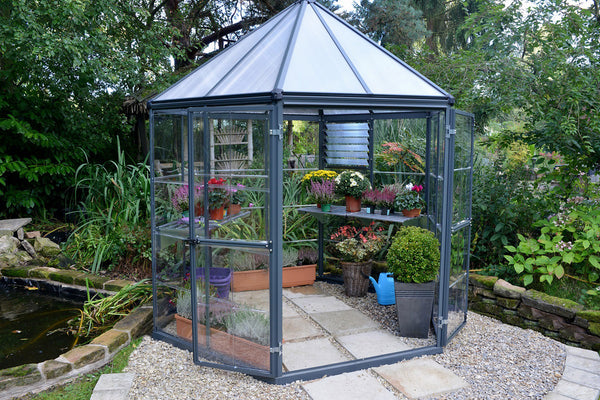 Maze Oasis Hex Greenhouse 8'