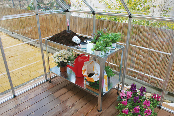 Maze Greenhouse Accessory - Steel Work Bench
