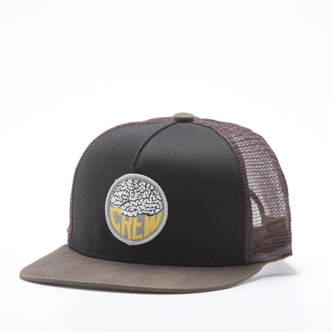 Brain Logo Mesh Hat