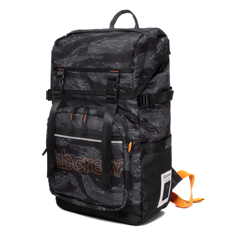 Dark Tiger Stripes Travel Backpack