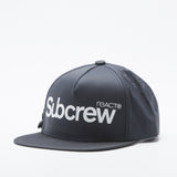 SUBCREW BASIC LOGO SNAPBACKS