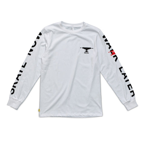 SKATE NOW L/S TEE