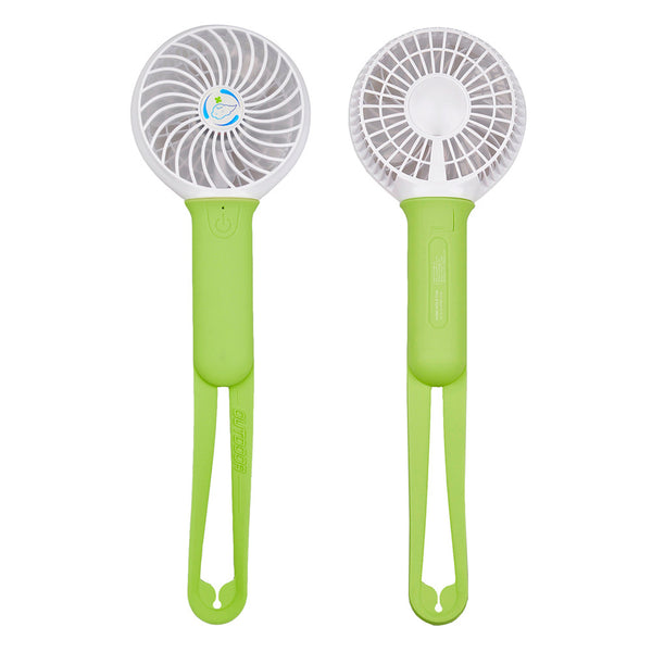 [CNCstyle] Portable USB Rechargeable Mini Fan Handheld Conditioner Air Cooler Fan Battery PC Mobile Power Led Fan USB Gadget for outdoor