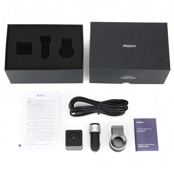 "Car DVR Camera Auto Smart Dashcam 150"" 1080P Phone Display Parking Shot Mode WDR Night Vision - CNCstyle by Chloe&Claire"