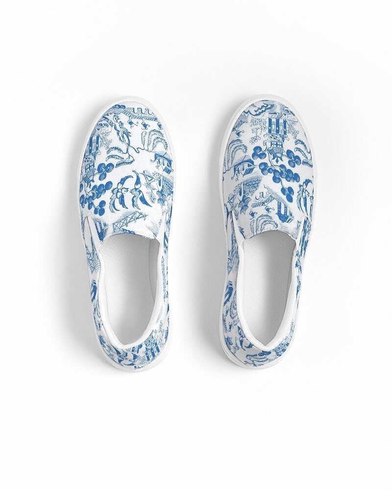 Willow Chinoiserie Shoes
