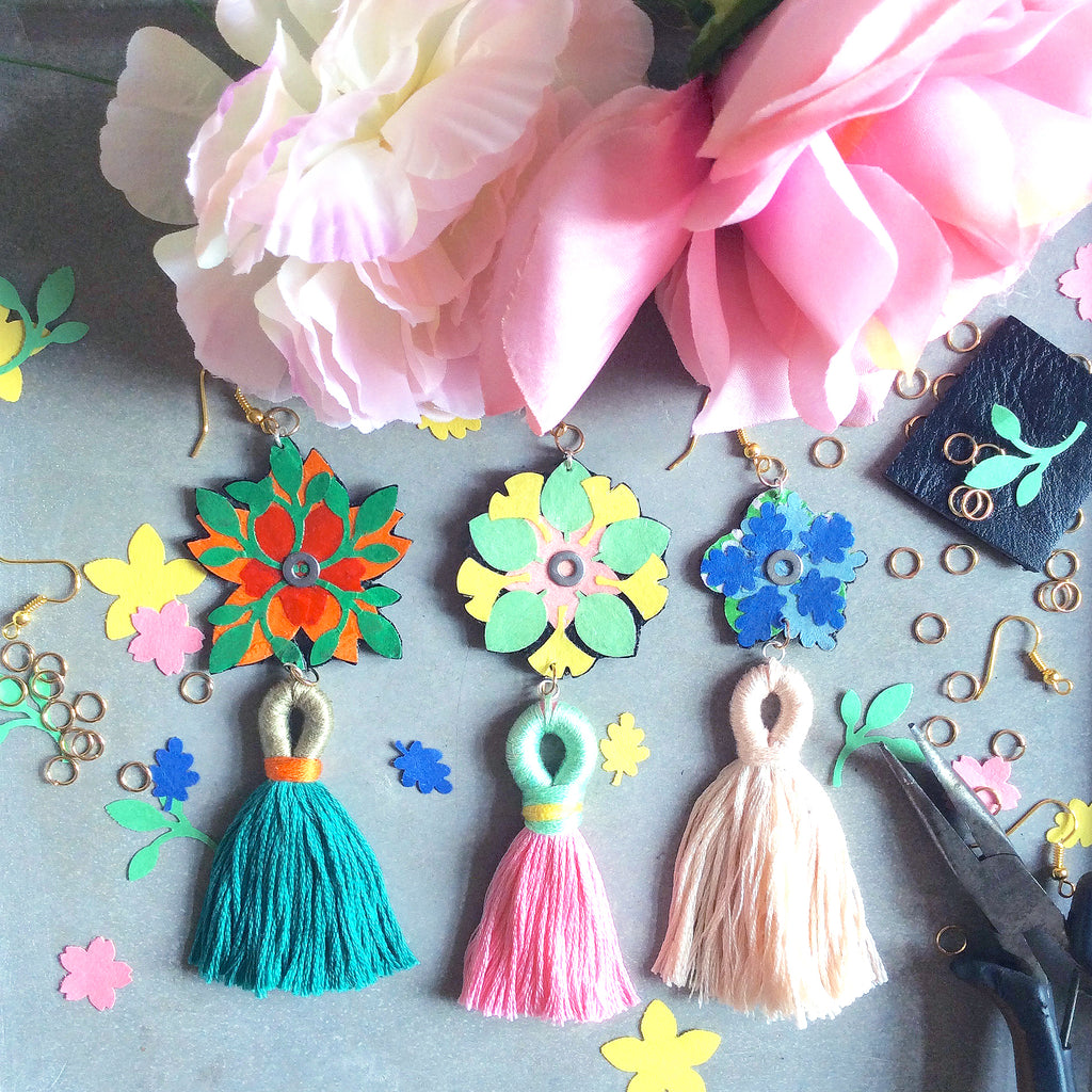 The Workshop: Tassel Earrings