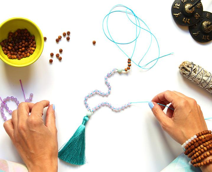 Mala Making Workshop:  Saturday July 13, 2019
