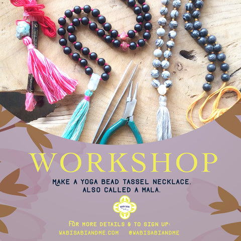 Mala Making Workshop: <br> PRIVATE SESSION