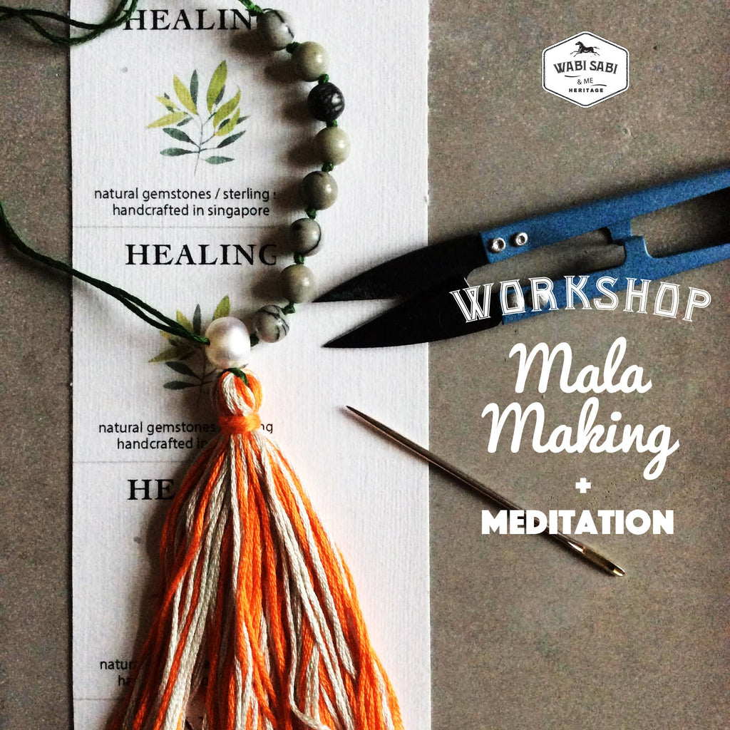 Mala Making Workshop: <br>Saturday Mar 3, 2018 PRIVATE SESSION