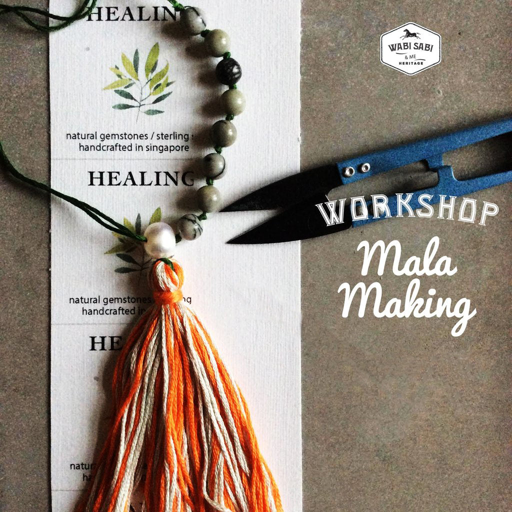 Mala Making Workshop: <br> Feb 16, 2019