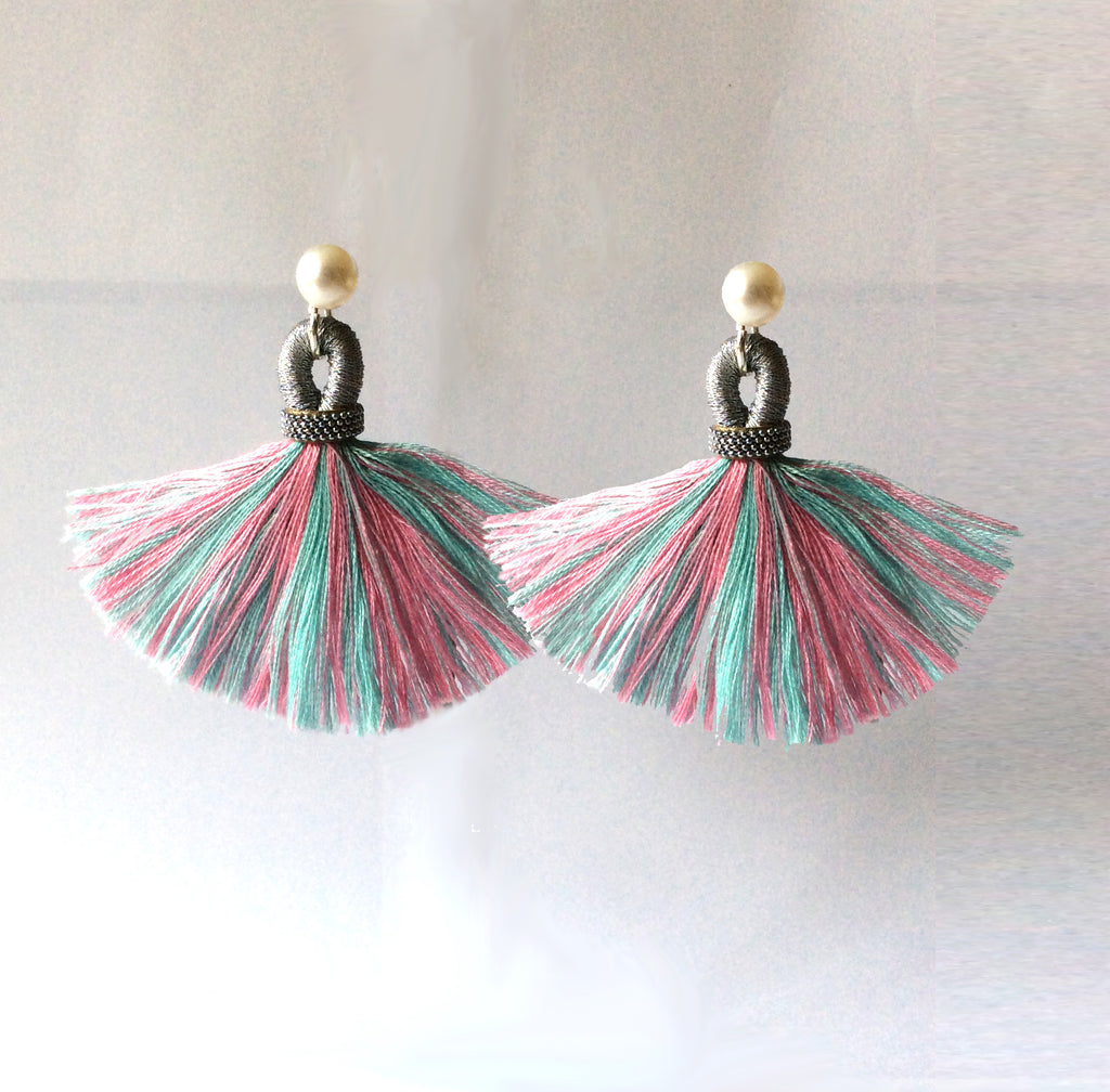 Tassel Earring Jackets Goa