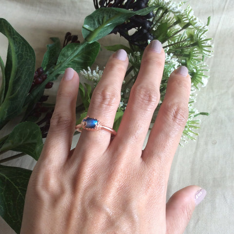 Labradorite Stack Ring