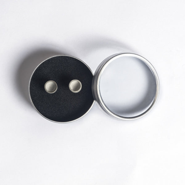 Micro Concrete Earrings #3