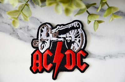 AC/DC  Heavy Metal Iron on Patch