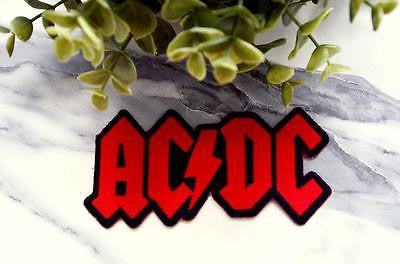 AC/DC Music Iron on Patch