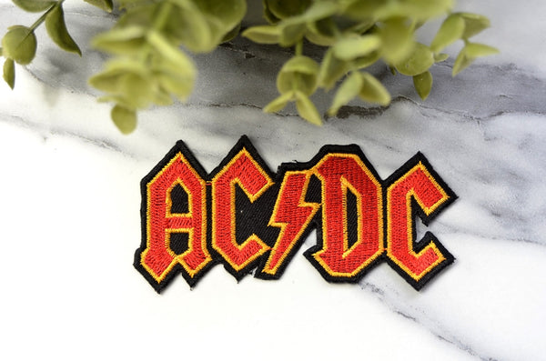 AC/DC Iron On Patch