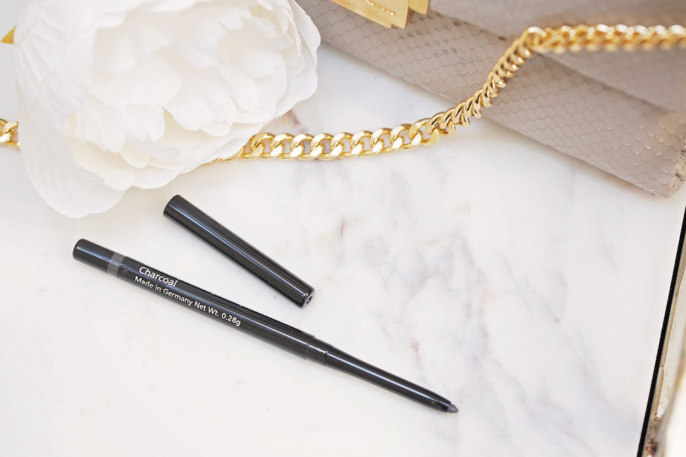 Waterproof Retractable Eyeliner- Charcoal